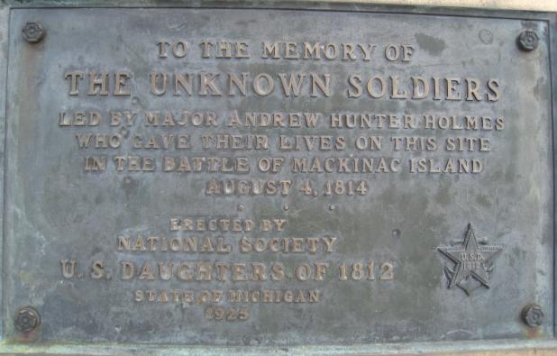 Unknown Soldiers Marker