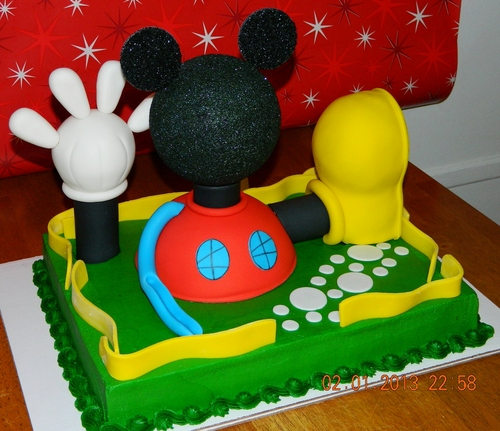 Mickey Mouse Clubhouse House Cakes Mickey Mouse Club House