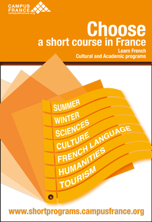 Choose a short course in France