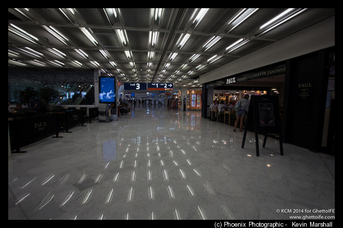Orly Departure area