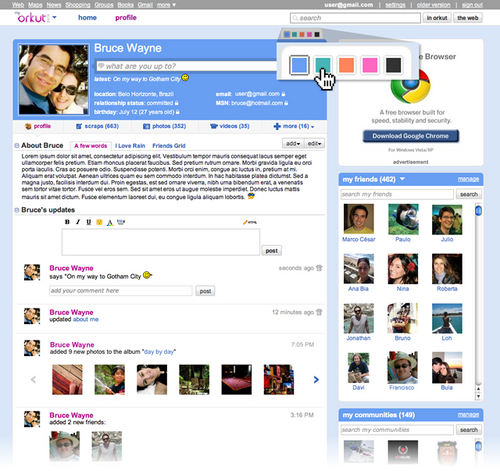 Novo Orkut - New Orkut